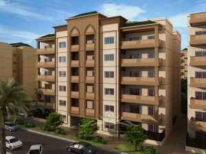 This is the family orientated Flat Apartment buildings, which will contain three bedroom units, built in a Ground plus 5 floor structure with each floor holding four units communal playgrounds and nearby access to schools will delight families.